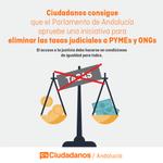 El Parlamento ha aprobado la iniciativa de C´s para eliminar tasas judiciales a PYMES y ONGs http://t.co/Pj9ucj2NVR http://t.co/MxUO69owCr