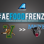 Another #AEFoodFrenzy exchange! Today, @UVMSAAC will bring canned goods to @UMaineSAAC! http://t.co/YwmVPZVykQ