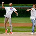 In honor of the @Cubs #WildCard win, #TBT to @CullenJones & @conorjdwyer on the mound at #WrigleyField in June! http://t.co/6VrucYApTY