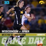 Its GAME DAY! #Hawkeyes host @BadgerWSoccer at 7 p.m. (CT)! http://t.co/N7u5BCqIXE
