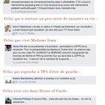 Il y a un peu de tout dans les gens qui commentent le post de Morano. http://t.co/CUlWIHhcSK