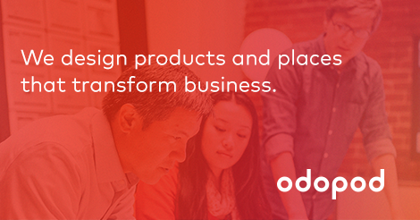 Announcing a bold, new @odopod. Designing products and places that transform business. http://t.co/js5ngt4IGO http://t.co/mCZtdJCCnX