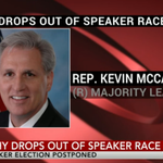 """We were all shocked"" Rep. Kevin McCarthy dropped out of House speaker race, colleagues say http://t.co/uQ9VxnLeK2 http://t.co/HDOYXTpRPs"