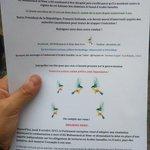Distribution de tracts à #Paris pour #AliMohammedAlNimr ! #SauvezALI #Freenimr http://t.co/EifGYT94MT