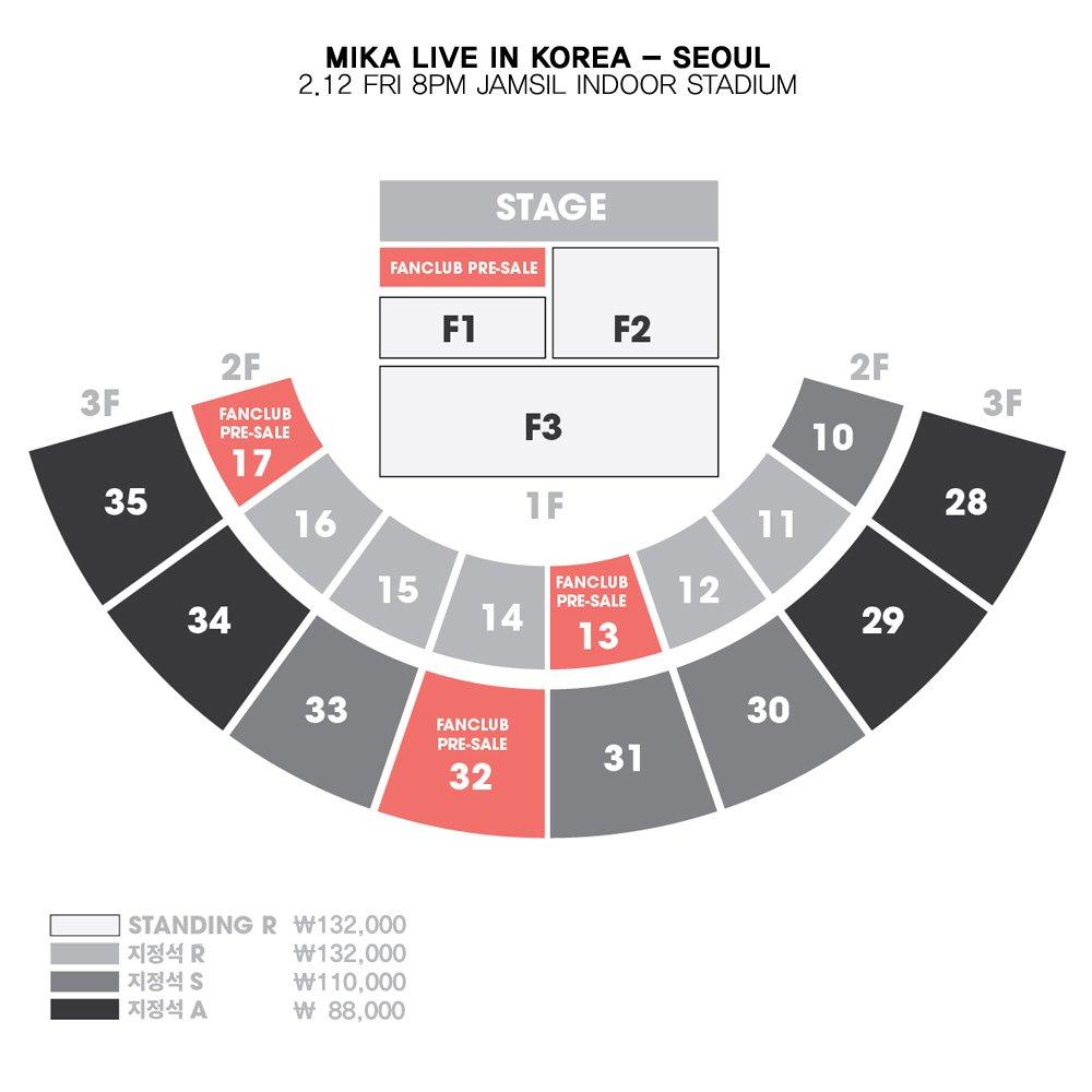 <MIKA LIVE IN KOREA> 팬클럽 선예매 구역 안내 https://t.co/7hYkLmIH7I 에 미리 가입해주세요! https://t.co/JpvGjgewb0