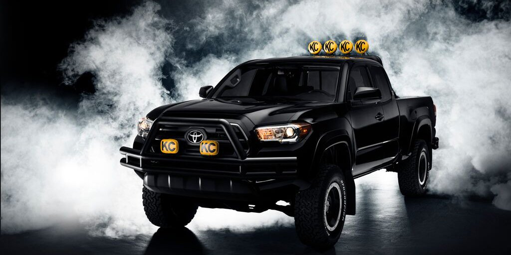 """Check out that 4x4!"" All Marty McFly ever wanted was a #Tacoma… so we made it! #BTTF https://t.co/dGMm6zMtxp"