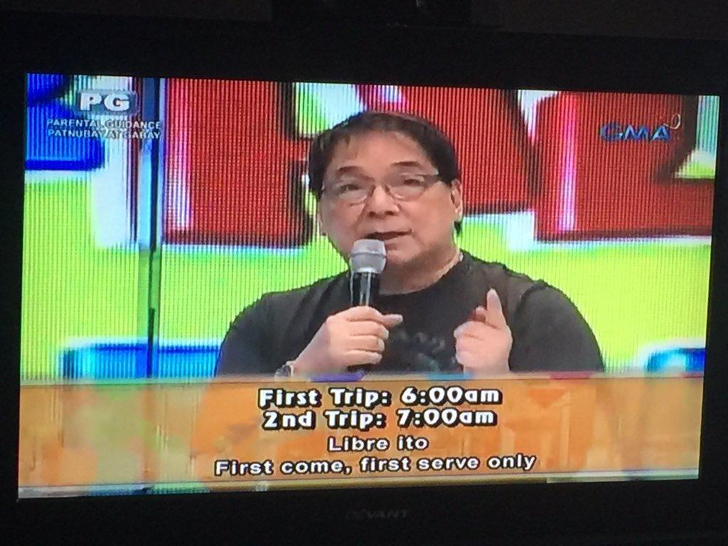 Schedule ng mga bus na maghahatid sa Philippine Arena para sa #SaTamangPanahon #ALDUBHALFWayThere https://t.co/4miQfFjWlU