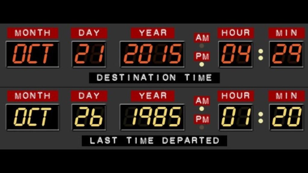 Present Future #BackToTheFuture2 #thetimemachine https://t.co/B2v8Kz5zXU
