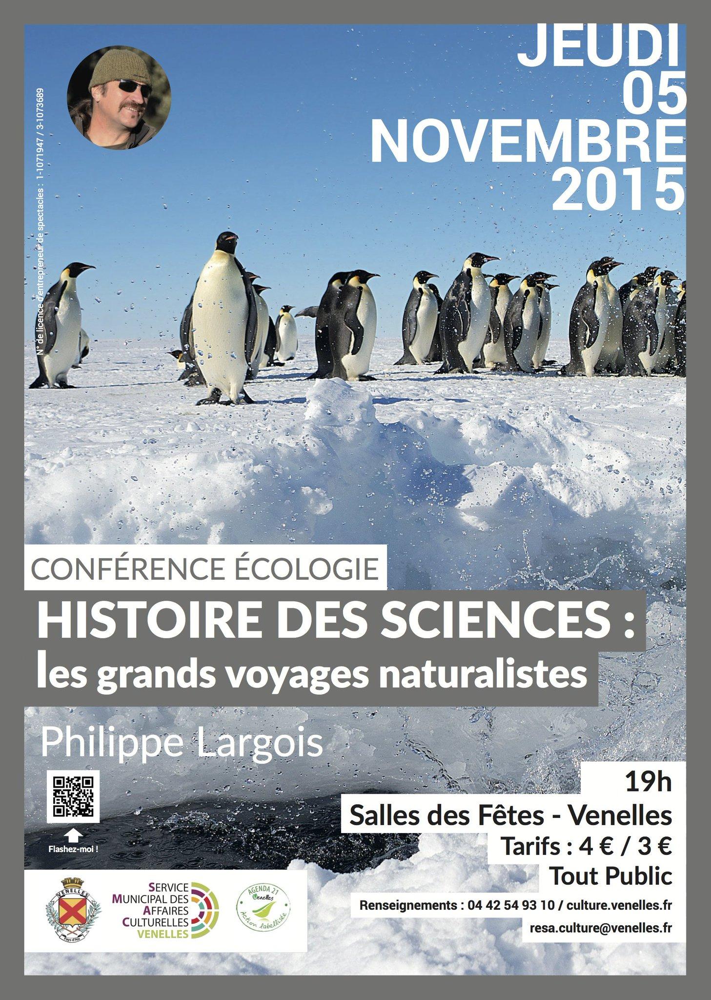#ecologie Tour d'horizon des plus grands voyages naturalistes avec Philippe Largois, paléoécologue !  #COP21 https://t.co/VYnJR9bwEw