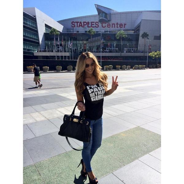 #PaulHeymanGirl (and #SuperModelOfTheYear) @EllieGonsalves is ready for @WWE #HIAC THIS SUNDAY on @WWENetwork! https://t.co/y370xgKq5g
