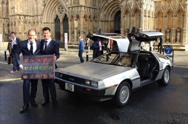 Sorry, the internet, my pals are getting married today and have completely won #BackToFutureDay https://t.co/nTJIXat7fb