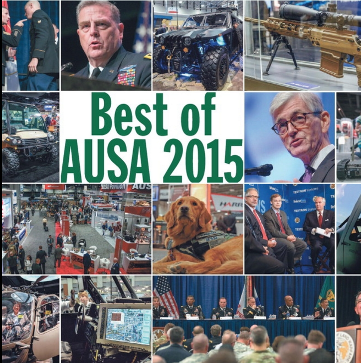 Here's a recap of the 2015 Annual Meeting and Exposition by @defense_news #AUSA2015 https://t.co/OlddiwTLan https://t.co/BGIxOc6tPX