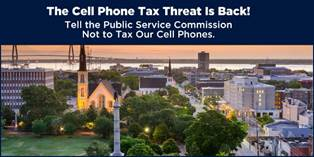 .@nikkihaley SC cell phone users pay 16% of monthly bills in taxes! Say no to new cell taxes https://t.co/eMb63QFJxt https://t.co/sZFupbfCQb