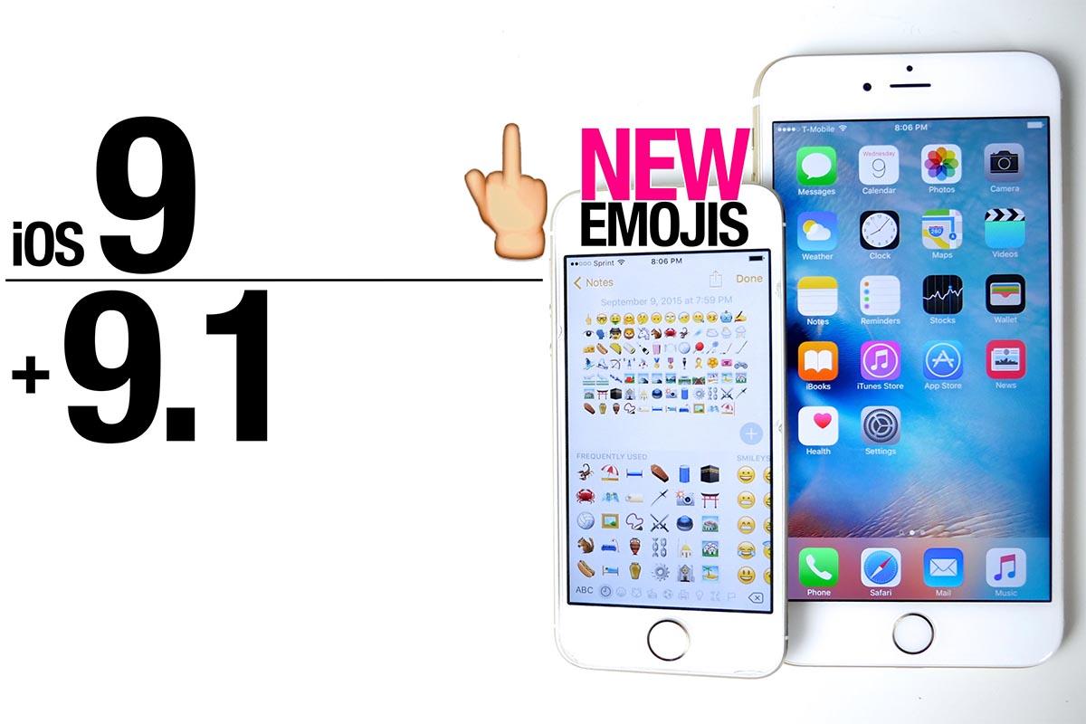 Finalmente, llega iOS 9.1 con todos los nuevos emojis, incluyendo este: