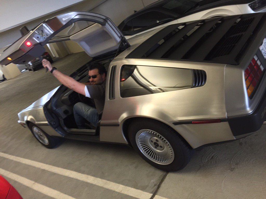 Where we're going, we don't need, roads! #October21st2015 #BackToFutureDay https://t.co/pvi2XuH3Wc