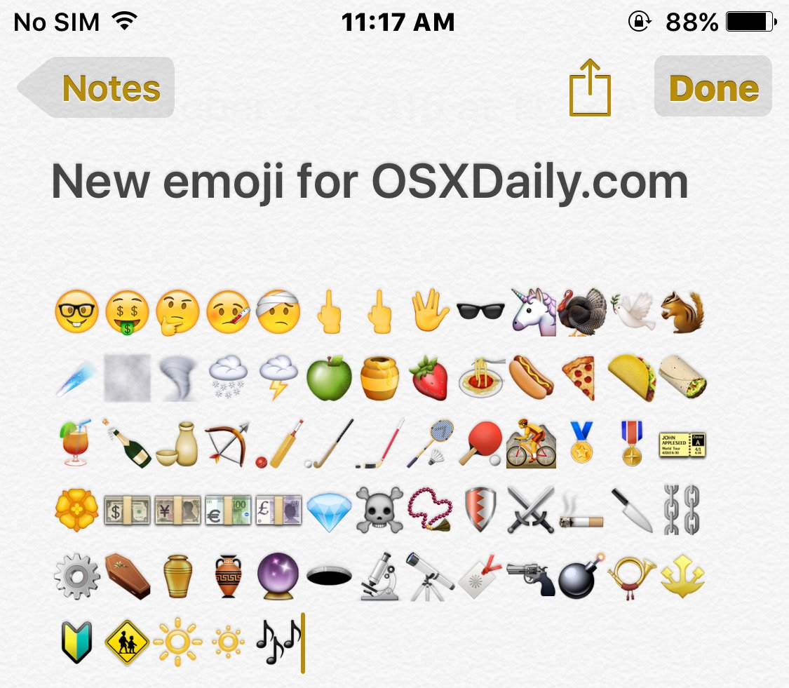 iOS 9.1 Update Includes Bug Fixes & New Emoji Icons - did you update yet? https://t.co/pV5nupDtiB https://t.co/GH9SJJ9B7y