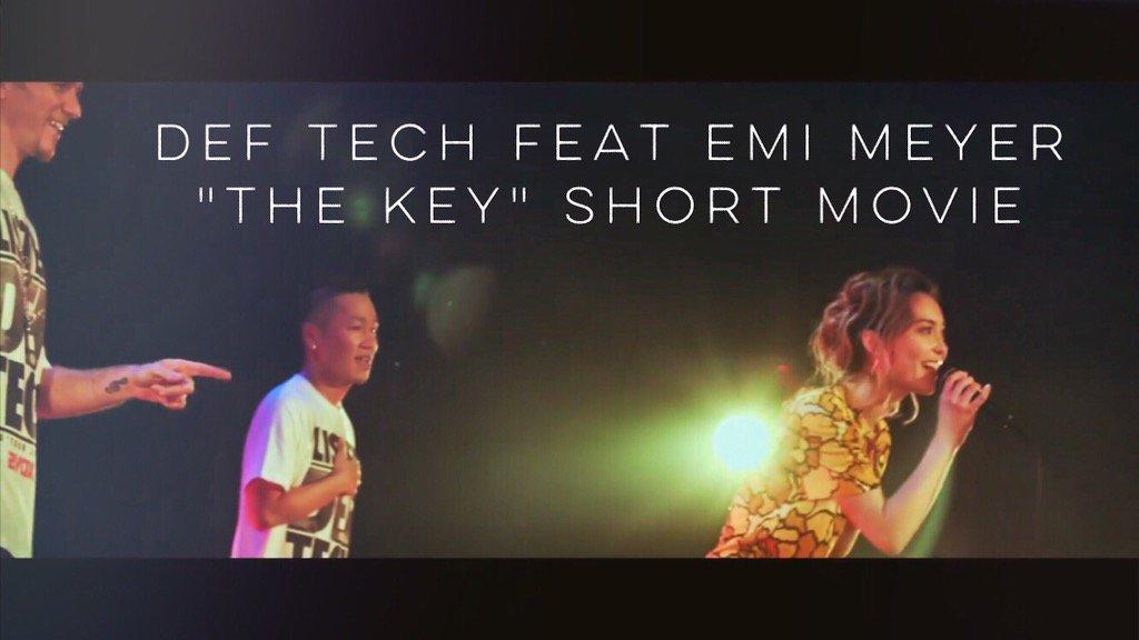 """2月に@Def_Tech と#ZeppTokyo で""""The Key""""を歌わせて頂いた時のショートムービー"""