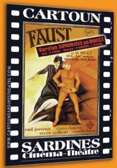 Quand Le Cartoun Sardines Théâtre redonne voix à Faust !  #Venelles #cine #théâtre #vendredi13 #Murnau https://t.co/GQPhETeVLr