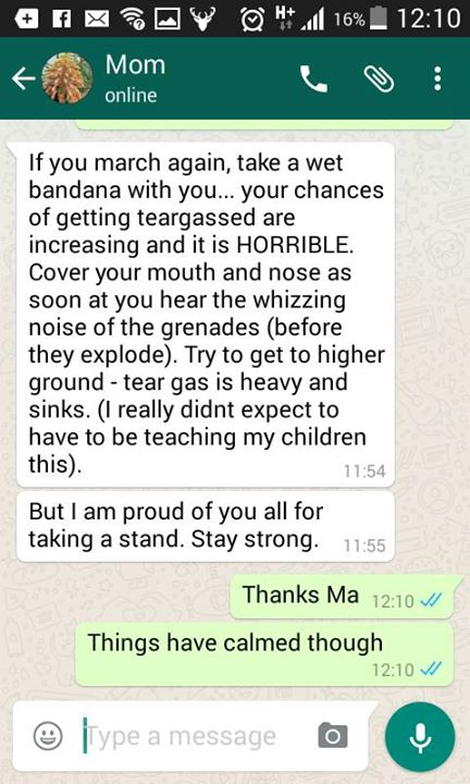 Message from a mom to her #FeesMustFall child:  Via Daniel Grinker's RHODES SRC on FB https://t.co/laHJ1Hjkpd