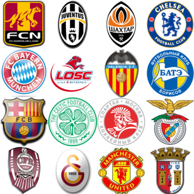 too easy so try this the european football club crests