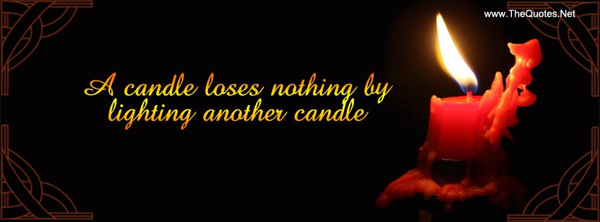 A candle loses nothing by lighting another candle. https://t.co/F7YMkkswK5 https://t.co/W5G3q46iBl #inspirationalquotes