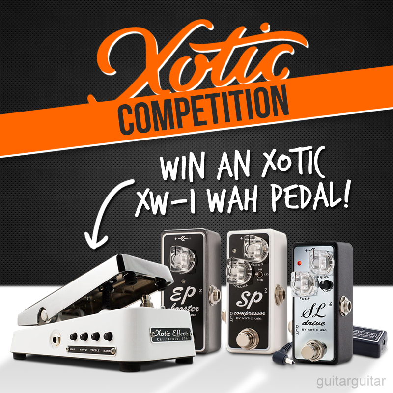 COMPETITION DAY 3 - Win an Xotic XW-1 Wah today. To enter retweet this post #ggxoticxw https://t.co/3D6x3EBJdd https://t.co/VBGlmBxvLw