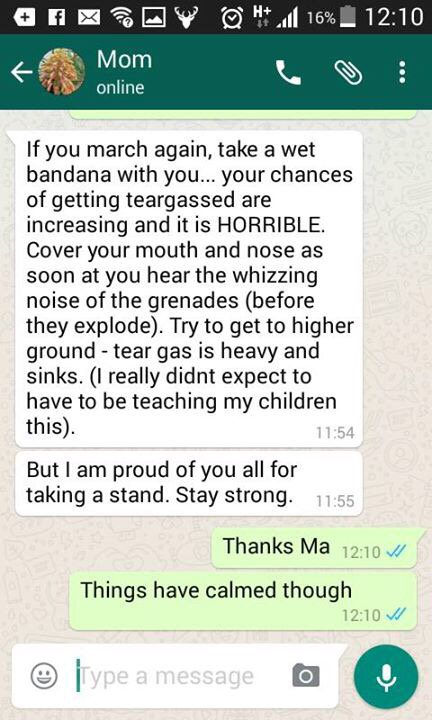A message from a mother to her daughter!