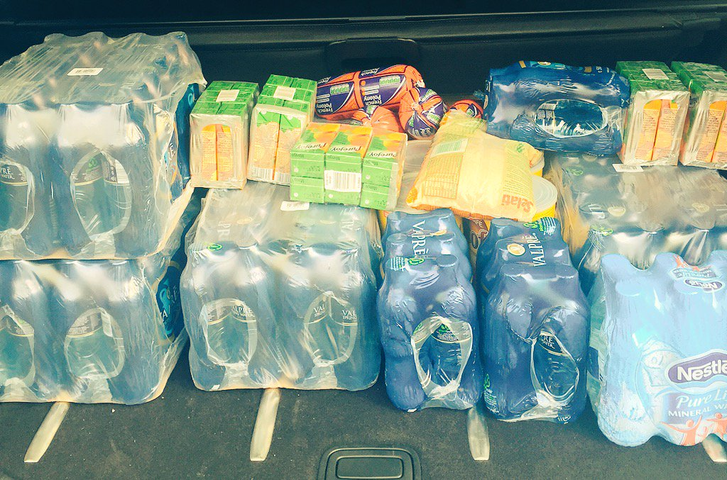 Heading to Wits to drop these off and to find out what else our students need...my modest contribution #FeesMustFall https://t.co/nsvtqTnMEt
