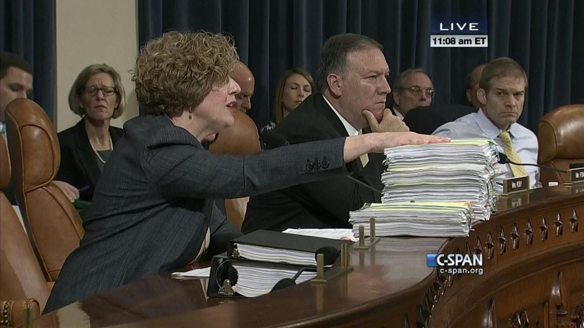 Rep @SusanWBrooks presents piles of Hillary Clinton Libya emails ... #Benghazi https://t.co/QDgDpbrOl4