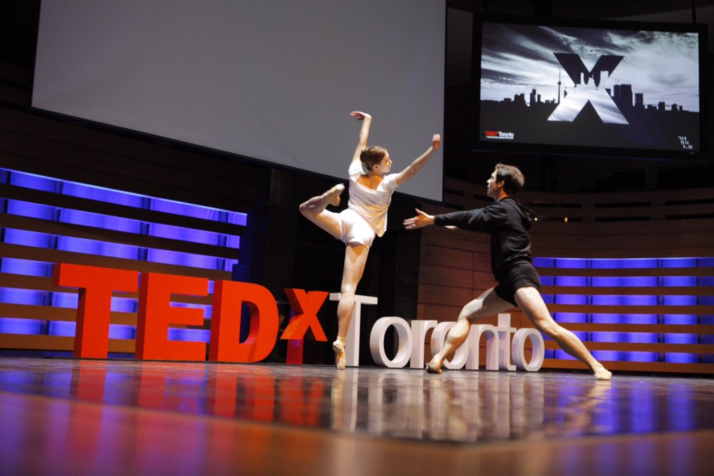 The conference opened with a spectacular performance by @nationalballet #TEDxToronto #Thresholds  @aswilliamson https://t.co/xud1kzMxVe