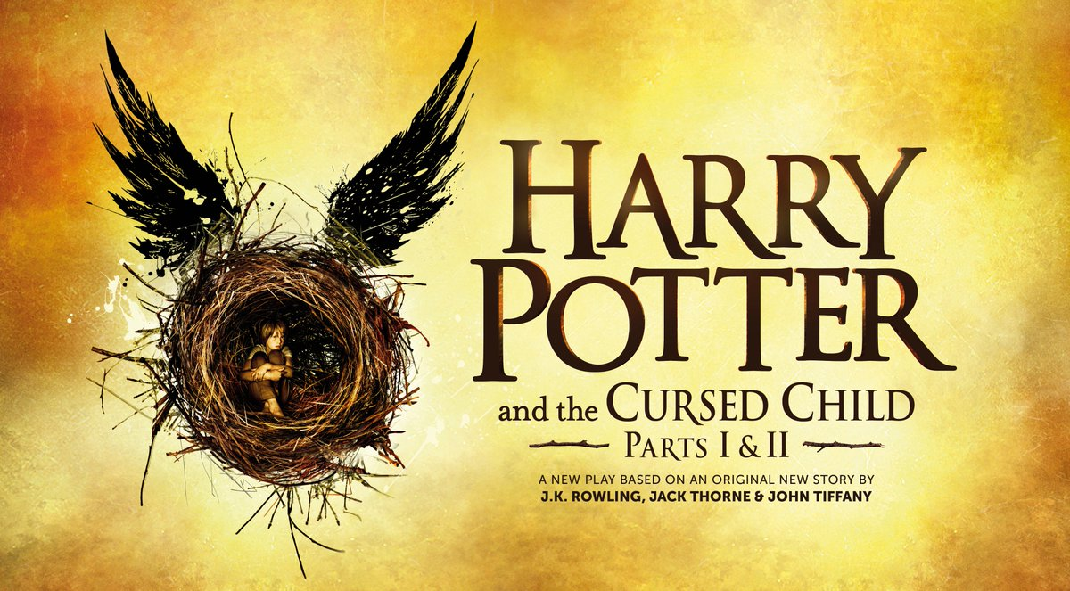 The official artwork for Harry Potter and the #CursedChild has been revealed: https://t.co/ZN8XJfaytj https://t.co/vhJoGJRJfm