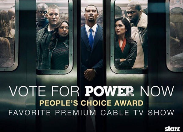the best show @POWER_starz is up for a People's Choice Award . Vote NOW https://t.co/x6PnpCW1Xp  #SMSAUDIO https://t.co/s3NnIhWmcv