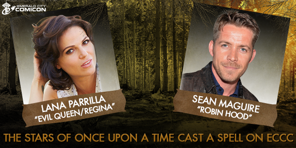 The stars of Once Upon A Time @LanaParrilla & @sean_m_maguire cast a spell on #ECCC! https://t.co/ro0j5pkyI5 #OUAT https://t.co/hVsfc1Ph4U