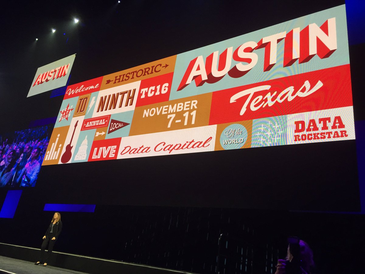We are happy to announce that the Tableau Conference 2016 will take place 7-11 November in Austin! #data15 https://t.co/yqDwoXOFvj