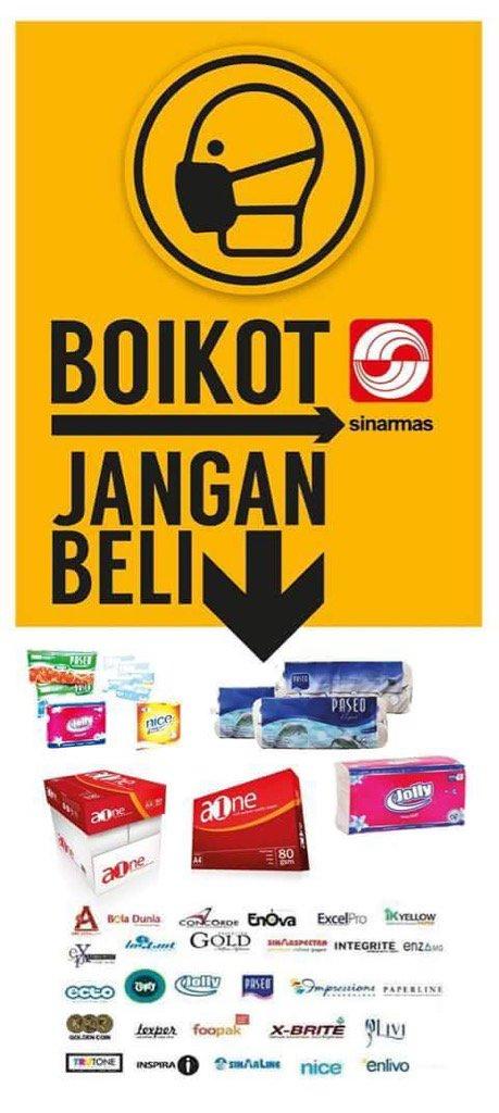 Ini daftar produk yg harus diboikot untuk #melawanasap! https://t.co/67pcp4Haxz