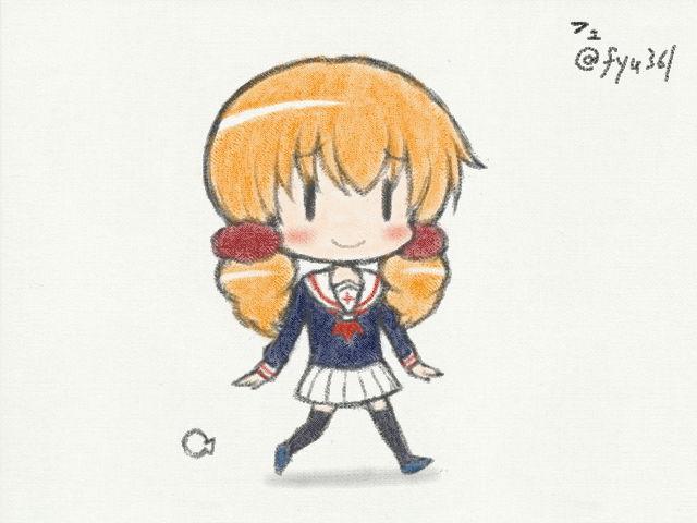 わかば*ガールの萌ちゃん~ #絵心教室 #ArtAcademy #3DS