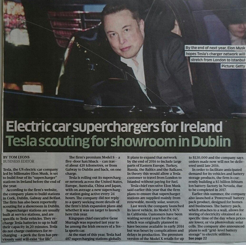 Until @tomlyonsbiz, I didn't know  Tesla S could travel from Dublin to #cong15 and back--on a single charge! http://t.co/TqRilARnO1