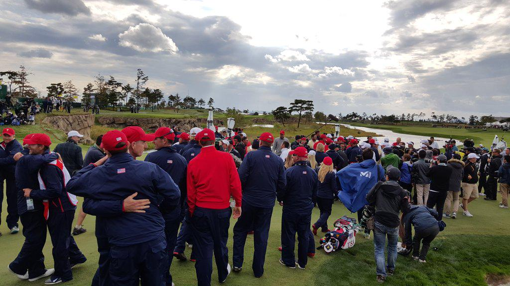#TeamUSA wins The #PresidentsCup http://t.co/Q4NLIi8eX6