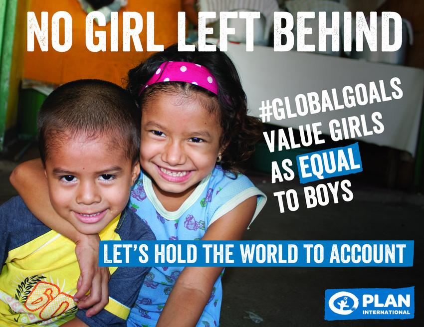#DayoftheGirl is an opportunity to reinforce that no girl should be left behind. The next 15 yrs = hope. #GlobalGoals http://t.co/GAp7MoSxTM