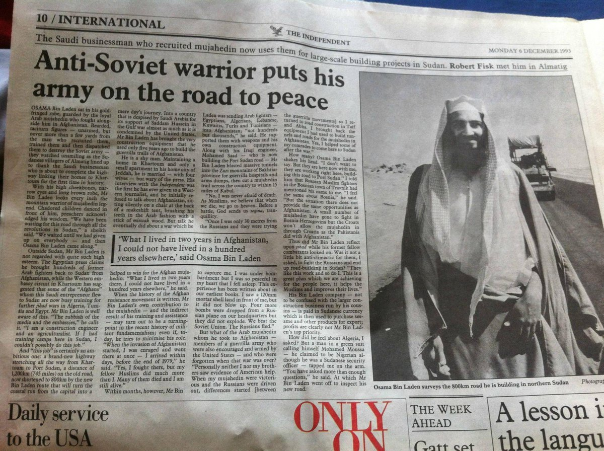 I wonder what happened to this rather nice chap The Independent interviewed in 1993. http://t.co/8s6Xqie5fV