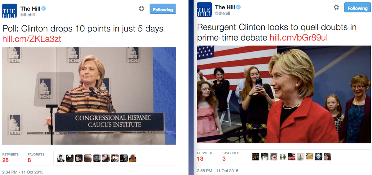 .@thehill tweets both of these stories inside of 20 minutes. both can't be true. http://t.co/fmJbehI8zS