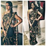 RT @DevsB: Styled: @LakshmiManchu in #PallaviJaikishan Sari for an Audio Launch in Hyderabad.
