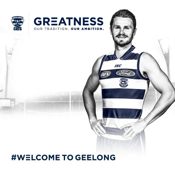 #WelcomeToGeelong  @dangerfield32 is officially a Cat! http://t.co/NeXQvPrFFH