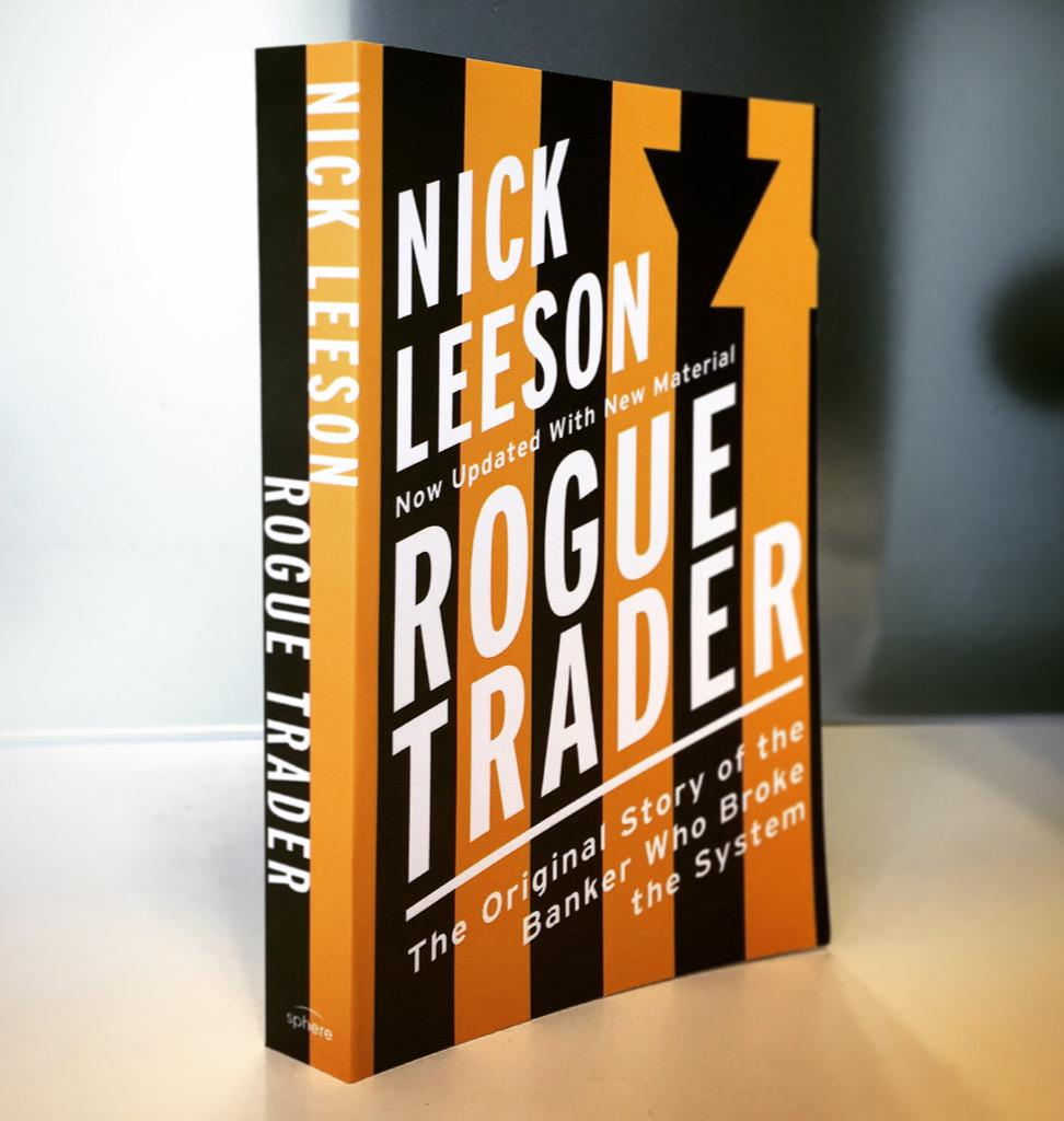 #Win a singed copy of Rogue Trader, 20th Anniversary Edition. Retweet and Follow to enter. #RogueTrader20 http://t.co/YmURnjPI0y