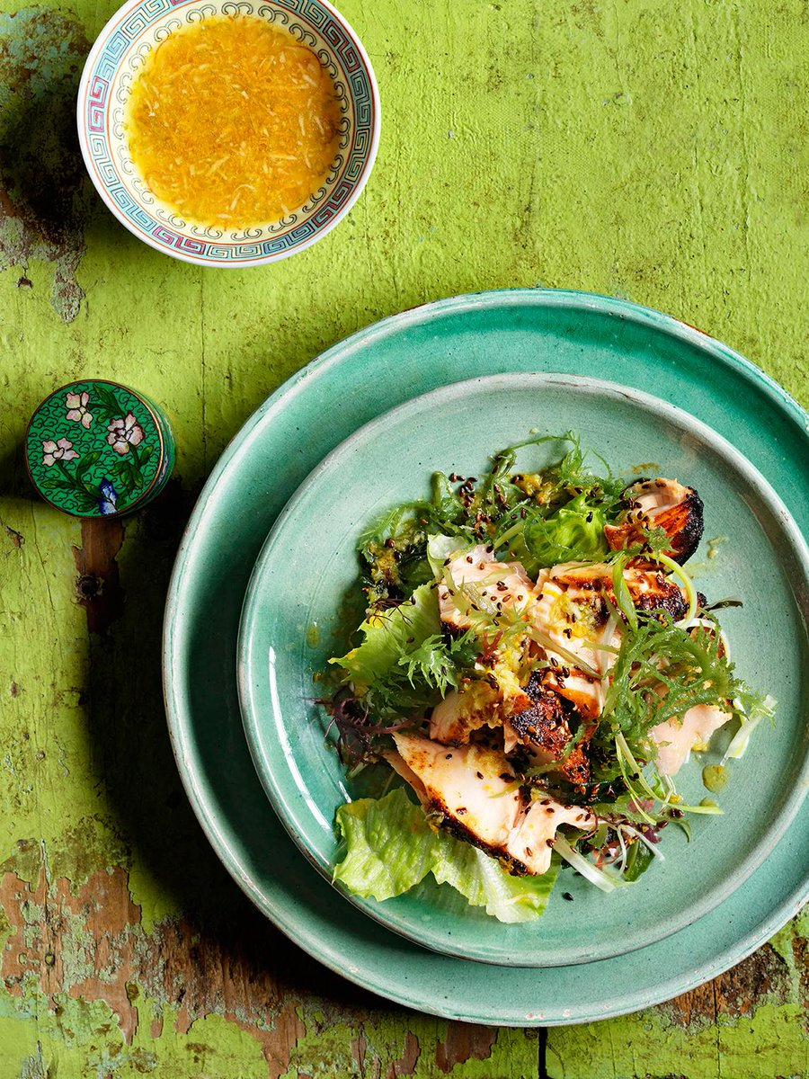 RT @JamieMagazine: Make like @jamieoliver & get some super seaweed in your life! Try this elegant salmon salad http://t.co/ZjIEGylYj5 http:…