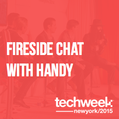 #TechweekNYC Fireside Chat with @Handy featuring @nihalmehta of @eniacvc & @oisinhanrahan https://t.co/0KD8wxfZAa http://t.co/gc432wmnIT