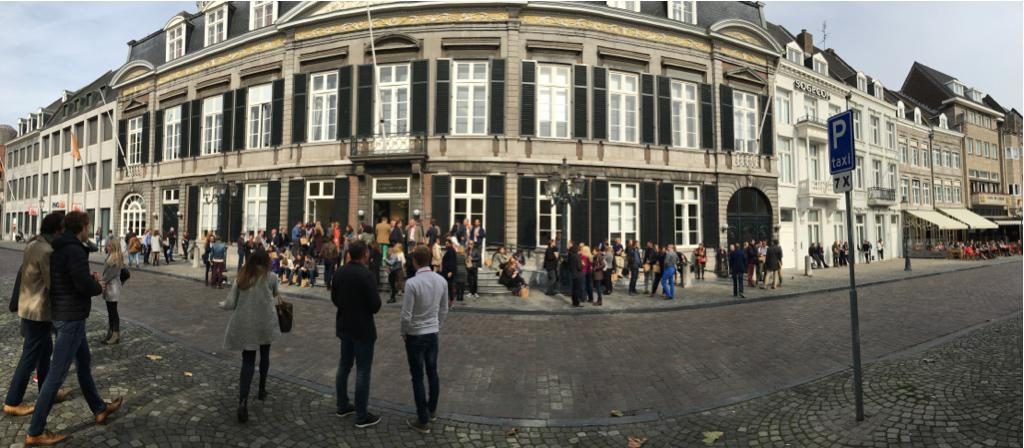 Awesome #panorama of the #TEDxMaastricht venue! So far the #TEDx #Event has been great! Inspired to #BeTheCure! http://t.co/iXgtHg7n2w