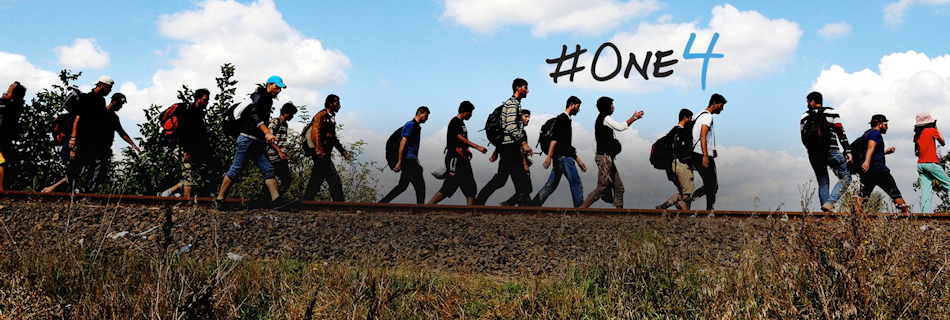 #SAP & @ImagineDragons have introduced the #One4 Project to support refugee relief efforts: http://t.co/UHBwo5ngJC http://t.co/dDmsezVZyy