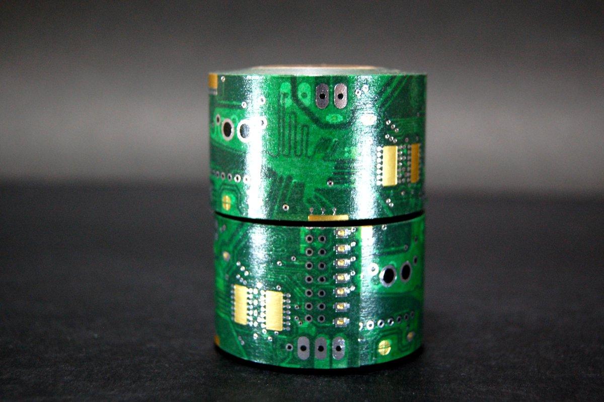 #出来れば3000RTくらいまで行ったら商品化出来るといいな本気 の件 『ナスカの電子回路』(箔押しマスキングテープ) ⇒ https://t.co/clkOaTrSR8 ← 引き続き応援、拡散宜しくお願いしますっ。会社通すぜいぜい! http://t.co/MWPeCfuM7z