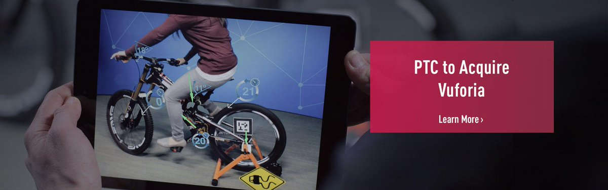 PTC to Acquire Augmented Reality Leader @Vuforia from @Qualcomm >> http://t.co/kuLxKyY4Ue #augmentedreality #IoT http://t.co/IDbVBEDW6G